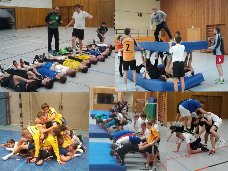 Handball kann auch Spass machen