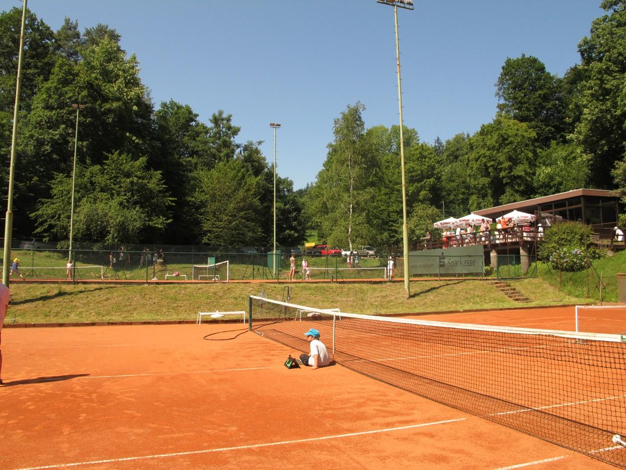 Tennis kann ganz schön anstrengend sein