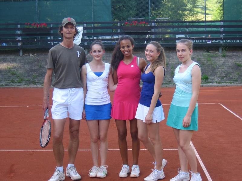 U18 mit Trainer Stan Hasa