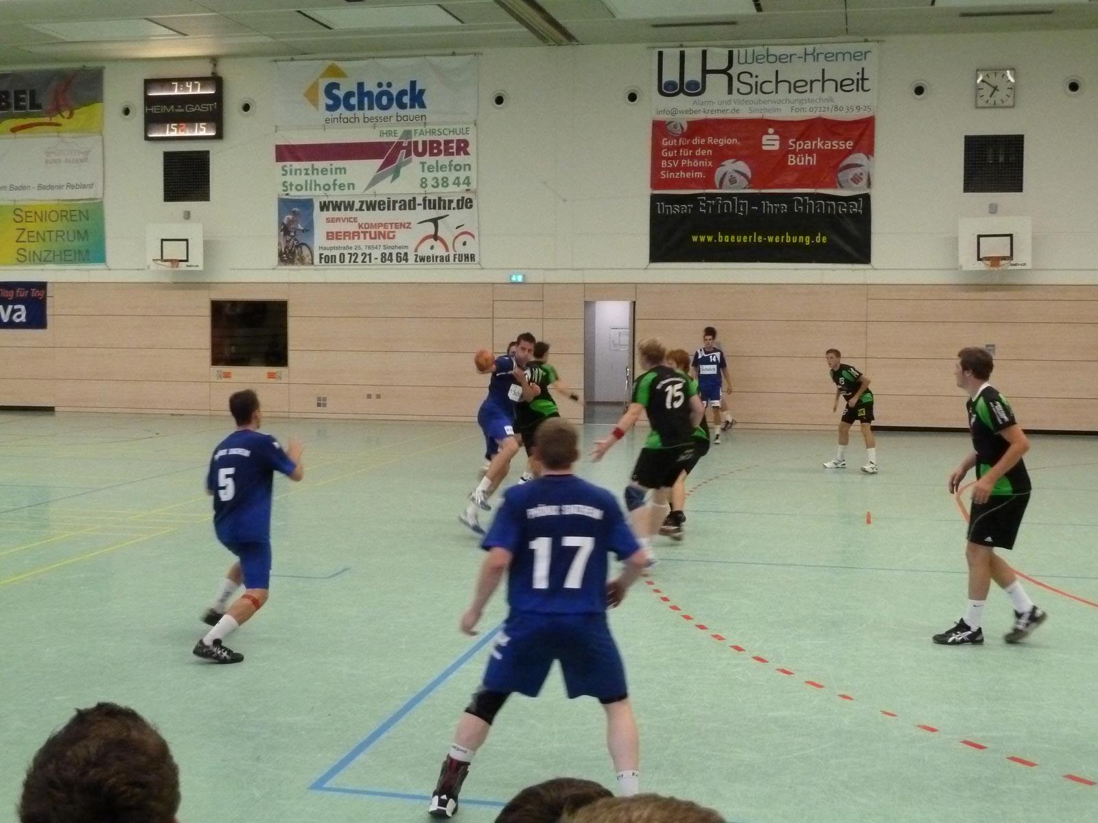 Handball in der Halle