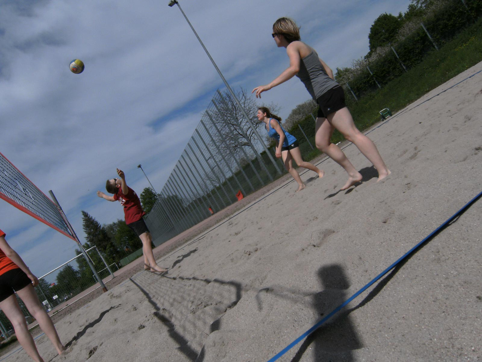 Beatch-Vollyball